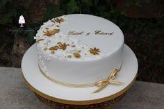 50th Wedding Anniversary Decorations, Vanilla Cake, Garden Design, Party, Pie Cake, Cake Wedding, Wedding Day, Vanilla Sponge Cake, Backyard Landscape Design
