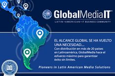 GlobalMedia IT brinda total alcance a nivel global.........http://tinyurl.com/mut3t5e #globalmediait #totalcoverage #globalscale #latin america #panama #peru #it #ti #technology #contactus #marketing