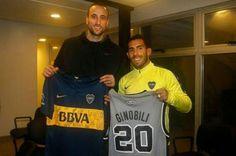 Manu Ginóbili visitó la Bombonerita y charló con el plantel de Boca - Boca Juniors - canchallena.com