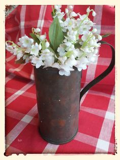 Vintage antique handmade prim copper by PawhillTreasures on Etsy