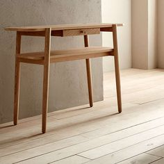 BuyDesign Project by John Lewis No.022 Console Table, Oak Online at johnlewis.com