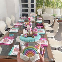 Todo listo para el taller de hoy! 🦄💖 #porcelanafria #unicornio #manualidades #chile #santiagodechile #hechoenchile #cute #like #follow #perfect #polymerclay #love #kawaii #unicorn