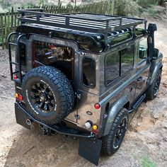 Land Rover Defender 90 Td4 Adventure. One of my favourite