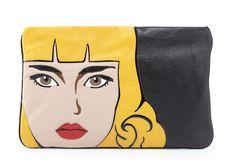 Prada Napa Zip Girl Clutch $1,195 via Bergdorf Goodman