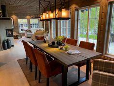 Visningshytte Eikås - Vyrk Farm Shed, Kitchen, Inspiration, Furniture, Cabins, Home Decor, Design, Live, Beige