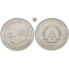DDR, 20 Mark 1972, Pieck, vz, J. 1541: Kupfer-Nickel-20 Mark 1972. Pieck. J. 1541; vorzüglich 3,50€ #coins