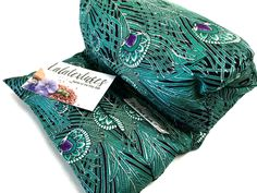 MICROWAVE HEATING Pad - Flax Heat neck Wrap -peacock - Hot Cold pack - Mothers day gift - Heat/Cold Pack - Muscle Aches - The FLaX SaK