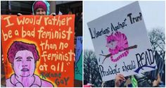 Bookish Signs from 2017 Women's March | These are amazing!