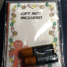 White elephant gift hahahahahahahahahahahahahahahaha this is hilarious!