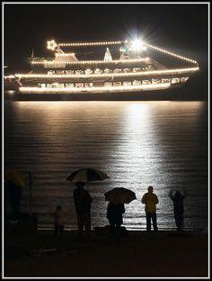 The Christmas Ship at Alki Beach - photo by David Hutchinson
