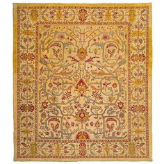 Vintage Persian Carpet | From a unique collection of antique and modern turkish rugs at http://www.1stdibs.com/furniture/rugs-carpets/turkish-rugs/