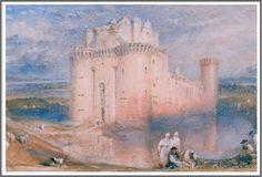 Joseph Mallord William Turner (1775-1851), Caerlaverock Castle - 1832