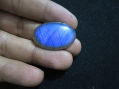 Natural Labradorite 29.80 Cts Oval Cabochon 21x32 mm by 8gemsinc, $14.99