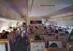 Airplane Interior, Aircraft Interiors, National Airlines, Civil Aviation, Flight Attendant, Photo Credit, Alaska, Hawaii, Vintage Airline