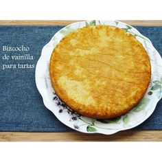 Jengibre y Canela: Bizcocho base para tartas. Receta de bizcocho de vainilla.