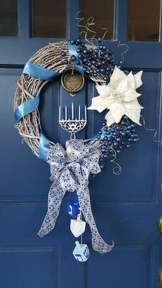 Hanukkah Crafts, Jewish Crafts, Feliz Hanukkah, Hanukkah Decorations, Christmas Hanukkah, Hannukah, Happy Hanukkah, Holiday Crafts, Holiday Fun