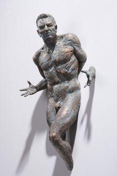 Matteo Pugliese, Hope (detail), bronzo, 68 x 42 x 21,5 cm #contemporary #art #sculpture