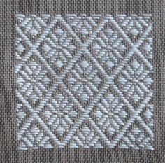 サンプラーこぎん刺しに3回目 Hardanger Embroidery, Hand Embroidery, Fabric Bracelets, Bargello, Darning, Plastic Canvas Patterns, Dobby, Needlepoint, Cross Stitch Patterns