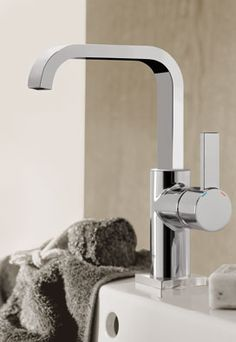 GROHE Allure Bathroom Faucet. #bathroom #basin #faucet #tap See more at http://www.grohe.com/us/5753/bathroom/bathroom-faucets/allure/