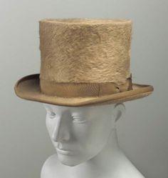 Hat ca. 1805-1830 via The Museum of Fine Arts, Boston