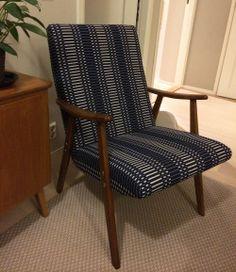 Upholstery with Johanna Gullichsen Helios fabric