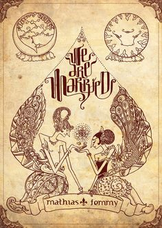 Just Married Mathias and Femmy by transbonja