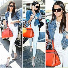 #kendalljenner #kimkardashian #northwest #cute #sweet #allblack #fashiondesigner #shades #jeans #hat #fashion #style #celebrity #look #lookbook #beautiful #gorgeous #trend #trendy #chic #ootd #kyliejenner #instafashion #instastyle #stylish #accessories #heels #shoes #model #supermodel... - Celebrity Fashion