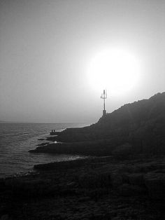 Lighthouse on the island of Peljesac . http://instaprints.com/featured/beacon-adam-danis.html?newartwor