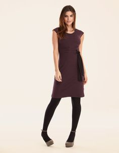 Textured Tie Dress by Pepperberry