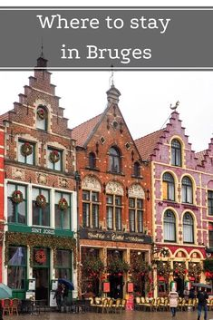 A complete guide to where to stay in Bruges, Belgium (including the best area for tourists and recommended hotels with parking or canal view). Belgium Bruges, Belgium Europe, Visit Belgium, Best Hotel Deals, Best Hotels, Bruges Christmas Market, Old Town Hotels, Couples Hotels, Belgium Hotels