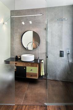 artists apartment in tel aviv 2016 marina rechter rubinshtein rema architects - Concrete Apartment 2016