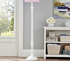 Mix and match lamp shades pottery barn kids dormitorios pottery barn kids floor lamps make a beautiful addition to a childs room find floor lighting and floor lamp shades and light up the baby room in style aloadofball Choice Image