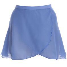 Wrap Skirt (69 BRL) ❤ liked on Polyvore featuring skirts, dance, ballet, blue, lullabies, wrap skirt, blue skirt, ballet skirt, ballerina skirt and ballet wrap skirt