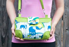Free Brookfield Bag Pattern from Sew Sweetness + Jungle Ave. Giveaway