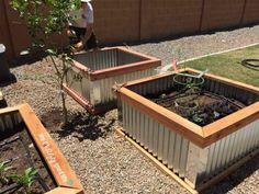 Galvanized raised bed garden instructions.
