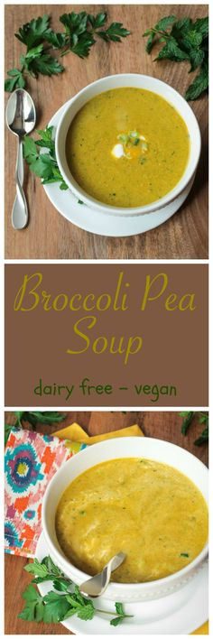Speedy Pea & Broccoli Soup + an eBook Review & Giveaway!!