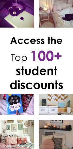 Access the top 100 student discounts, become  a Studentrate member