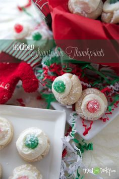 Sugarplum Thumbprints - Tried and Tasty