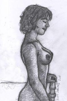 A CASA ENCANTADA 3. Desenho de Luiz Iévenes.