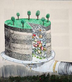 Pollution Cake