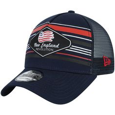 a6b2e00f Men's New England Revolution New Era Navy Shoreline 9FORTY Adjustable  Snapback Hat, Your Price: $23.99