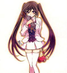 Tags: Scan, Pandora Hearts, Mochizuki Jun, Pandora Hearts ~Odds And Ends~, Official Art, Alice Baskerville