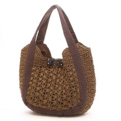 crochet purse - good variety of stitches and textures, good shape