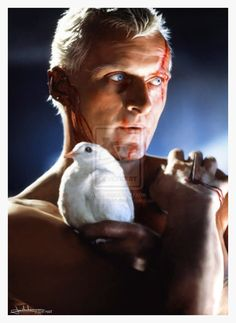 'Blade Runner' - Rutger Hauer by Max Hitman on deviantART.