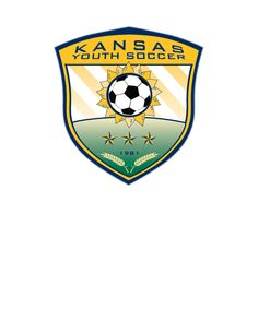 A logo for the Kansas Youth Soccer Association