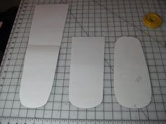 Fleece Sock Pattern Pieces
