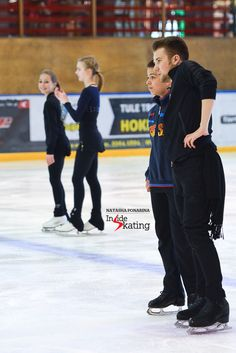 One last piece of advice to Petr Gumennik, at the end of a long, but rewarding day in Tartu, at Alexei Mishin's traditional Spring camp