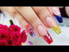 Easy Nail Art Designs/Jelly Nail trend/ Uñas Acrilicas de Gelatina - YouTube Simple Nail Art Designs, Easy Nail Art, Nail Designs, Patrick Nagel, Jelly Nails, Nail Art Videos, Nail Trends, Design Trends, Youtube