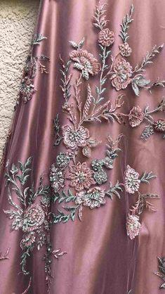 Dust Pink Hand Embroidered Lehenga With Mint Green Blouse-Shrena Hirawat-Fabilicious Fashion Bridal Lehenga Online, Bridal Lehenga Choli, Pakistani Bridal, Indian Gowns, Indian Attire, Simple Lehenga, Designer Party Wear Dresses, Designer Wear, Lehnga Dress