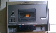 Vintage Sony Cassette Deck For Sale on eBay